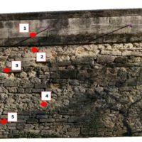 Implantation des carottages – Zone 1